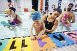 Xogos infantís na auga