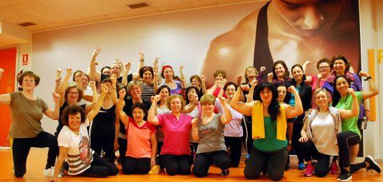 Mujeres en gimnasio Vigo