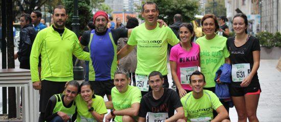 grupo de running de gimnasio Vigo