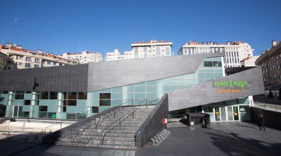 Instalaciones de Máis que Auga gimnasio en Vigo
