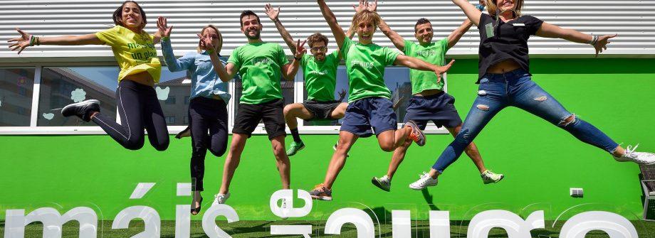 Equipo profesional de Gimnasios Vigo Máis que Auga