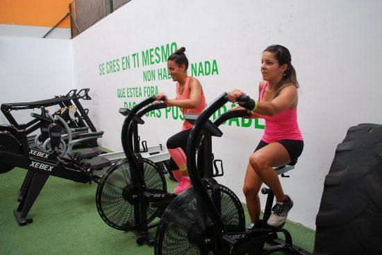 los gimnasios en Vigo Máis que Auga estrenan nuevas máquinas