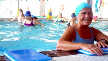 A actividade física máis alá dos 60 nos ximnasios en Vigo
