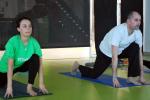 Nova clase de ioga en Máis que Auga Navia!