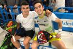 Nacho Vilariño, clasificado para a segunda rolda da previa do Vigo Open 2019