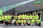 El equipo Máis que Auga, primero por participación en el Circuito  Run  Run Vigo