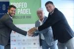 Presentación de la séptima edición del Trofeo Concello de Vigo de pádel
