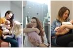 Sara, Paulo, Marina y Noa, ¡nuevos miembros de la familia Máis que Auga!