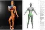 O escáner Styku, unha ferramenta de traballo para deportistas como Atenea González