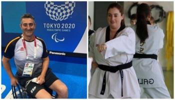 Chano Rodríguez y María Bautista, los representantes de MQA en los Juegos Paralímpicos de Tokyo